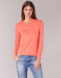Clothing Women Long sleeved tee-shirts BOTD EBISCOL Orange