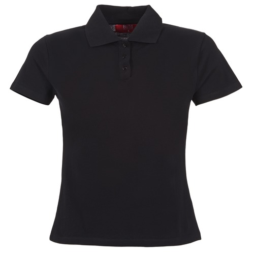 Clothing Women Short-sleeved polo shirts BOTD ECLOVERA Black