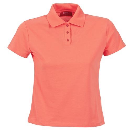 Clothing Women short-sleeved polo shirts BOTD ECLOVERA Orange