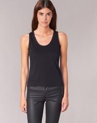 Clothing Women Tops / Sleeveless T-shirts BOTD EDEBALA Black