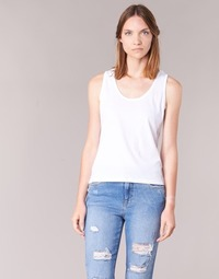 Clothing Women Tops / Sleeveless T-shirts BOTD EDEBALA White