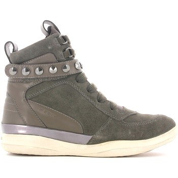 Shoes Women Hi top trainers Geox D3427A 022BC Sneakers Women Grigio