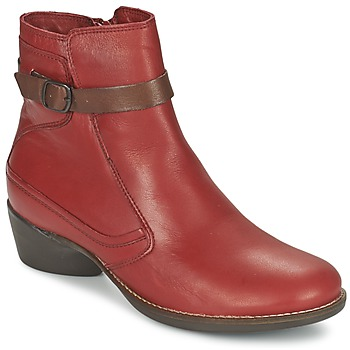 Shoes Women Ankle boots TBS GENTLY Garnet