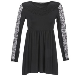 Clothing Women Short Dresses School Rag ROSELYN Black