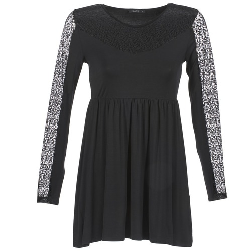 Clothing Women Short Dresses School Rag ROSELYN Black