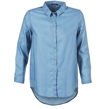 Clothing Women Shirts School Rag CHELSY Blue