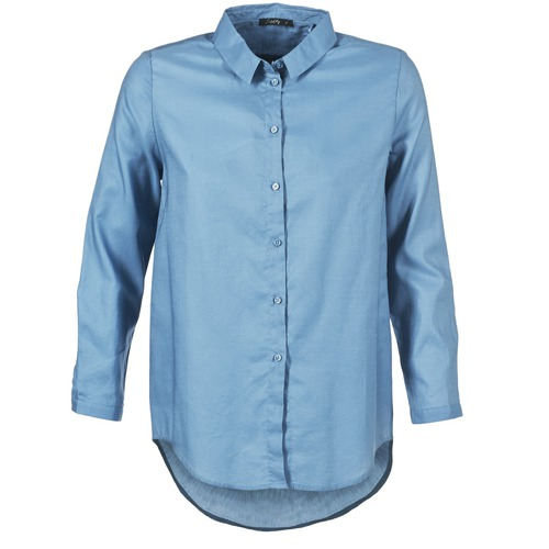 Clothing Women Shirts School Rag CHELSY Blue