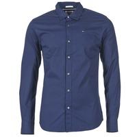 Clothing Men long-sleeved shirts Hilfiger Denim KANTERMI MARINE