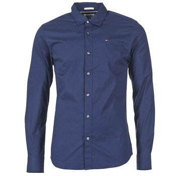 Clothing Men Long-sleeved shirts Tommy Jeans KANTERMI Marine