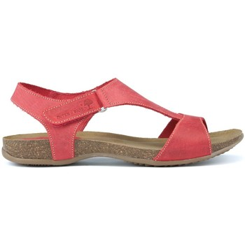 Shoes Women Sandals Interbios INTERMEDIATE ANATOMIC SANDALS 4420 RED