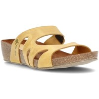 Shoes Women Mules Interbios W YELLOW