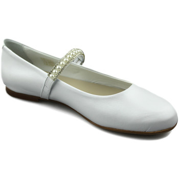Shoes Girl Flat shoes Oca Loca OCA LOCA PEARL dancers WHITE