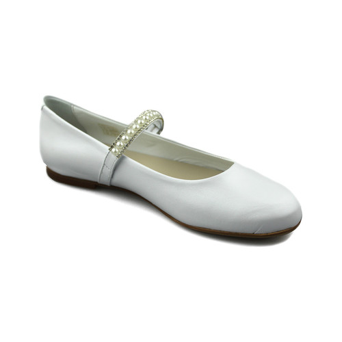 Shoes Girl Flat shoes Oca Loca OCA LOCA PEARL dancers WHITE