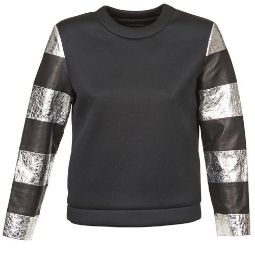 Clothing Women sweaters American Retro DOROTHY Black / Silver