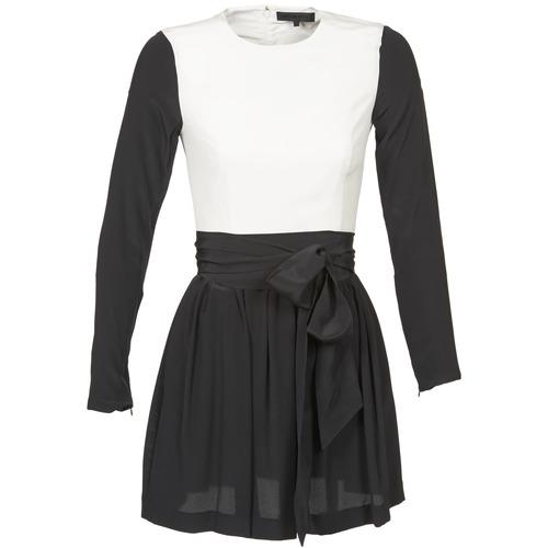 Clothing Women Short Dresses American Retro STANLEY Black / White