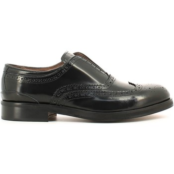 Shoes Men Derby Shoes Rogers 651-15 Lace-up heels Man Black Black