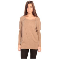 Clothing Women jumpers Charlie Joe Pull Fuzzi Brown