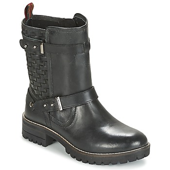 Shoes Women Mid boots Pepe jeans HELEN Black