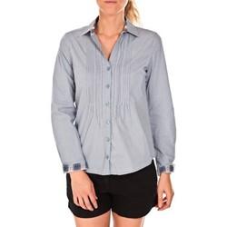 Clothing Women Shirts Tom Tailor Chemise Beatrix Bleue Blue