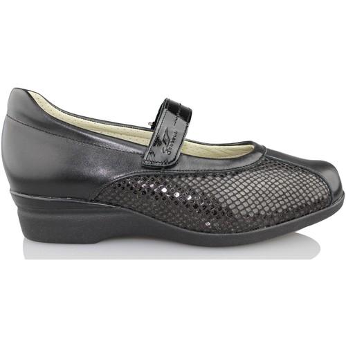 Shoes Women Flat shoes Dtorres D TORRES dancer for wide feet BLACK