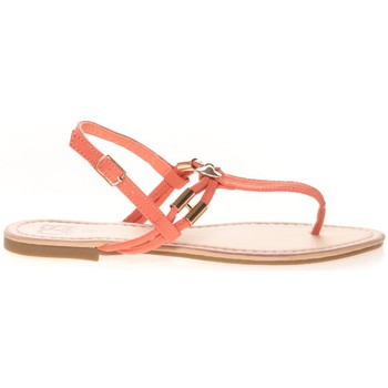 Shoes Women Flip flops Cassis Côte d'Azur Sandales Monika Corail Orange