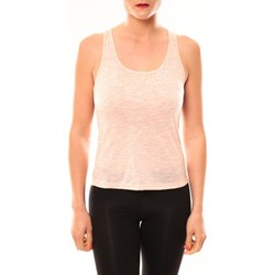 Clothing Women Tops / Sleeveless T-shirts Meisïe Débardeur 50-502SP15 Corail Orange