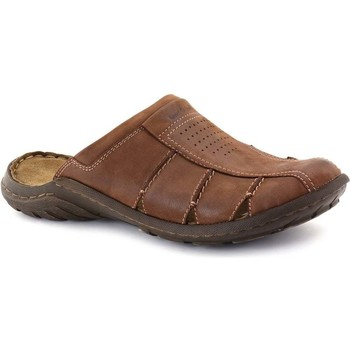 Shoes Men Clogs Josef Seibel Logan Closed Mens Mules brown