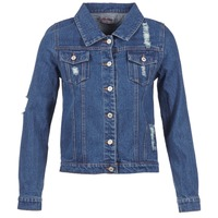 Clothing Women Denim jackets Yurban EJINILE Blue / Dark
