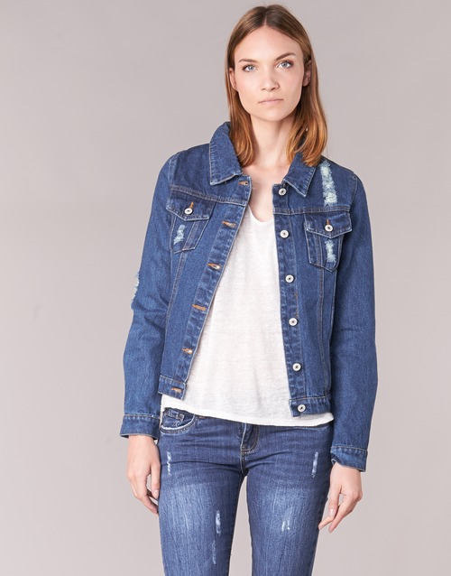 2020 Newest Yurban ESPINALE Blue / Dark 3487232 Women's Clothing