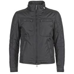 Clothing Men Jackets Geox BARI Grey