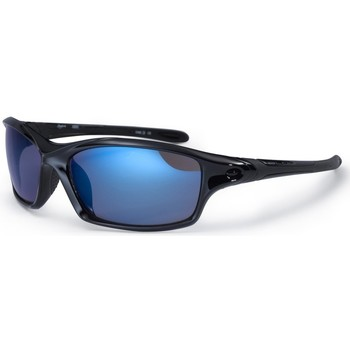 Watches Men Sunglasses Bloc Daytona Sunglasses - Shiny Black / Blue Black