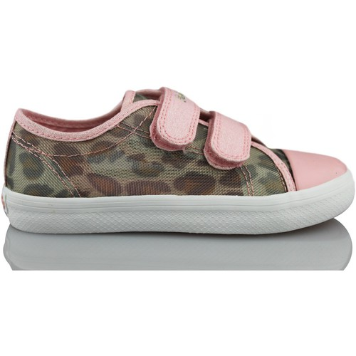 Shoes Girl Low top trainers Pablosky sporty grille PINK