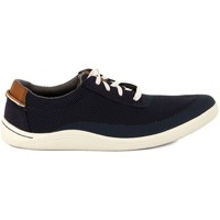 Shoes Men Low top trainers Clarks MAPPED EDGE Blu