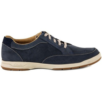Shoes Men Low top trainers Clarks STAFFORD NAVY    109,4