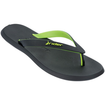 Rider  Black Flip Flops Man R1 Street Summer  mens Flip flops  Sandals (Shoes) in black