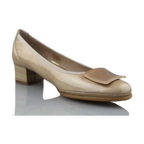 Shoes Women Heels Mikaela comfortable Dancer BEIGE