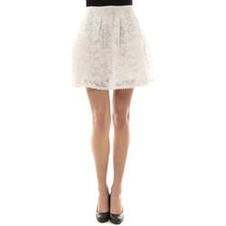 Clothing Women Skirts Vera & Lucy Jupe brodée Blanc J303 White