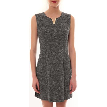 Clothing Women Short Dresses Vera & Lucy Robe sans manches Gris R6236 Grey