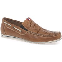 Shoes Men Shoes Rieker Nautic Mens Casual Slip On Shoes brown
