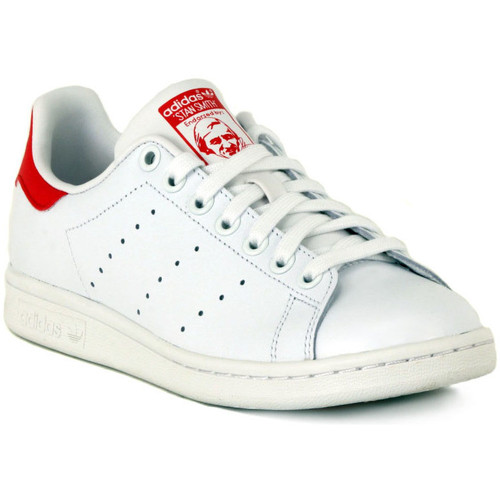 Shoes Low top trainers adidas Originals STAN SMITH Bianco