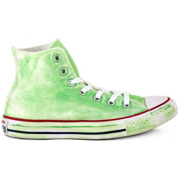 Converse  ALL STAR   NEON GREEN LTD  womens Shoes (Hightop Trainers) in multicolour