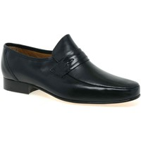 Shoes Men Derby Shoes & Brogues Rombah Wallace Regent Mens Slip On Formal Shoes black