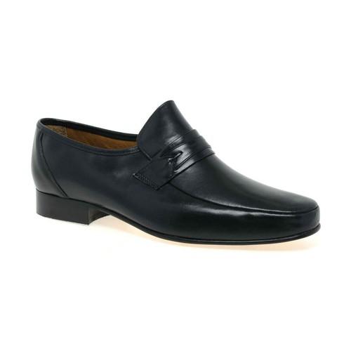 Shoes Men Derby Shoes & Brogues Rombah Wallace Regent Mens Slip On Formal Shoes black