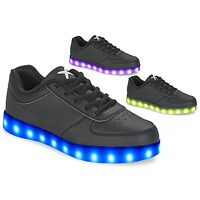 Shoes Low top trainers Wize & Ope THE LIGHT  BLACK