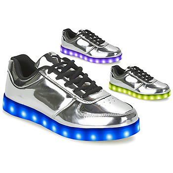 Shoes Women Low top trainers Wize & Ope THE LIGHT Silver