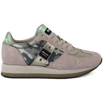 Shoes Women Low top trainers Blauer RUNNING CAMOUFLAGE Multicolore