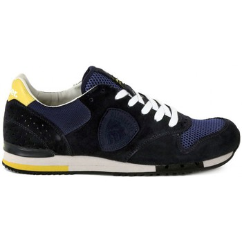 Shoes Men Low top trainers Blauer RUNORI MESH Marrone