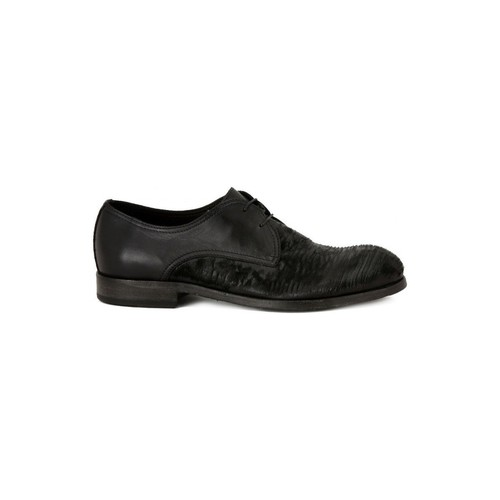 Shoes Men Brogues Pawelk's PAWELKS GONG DAKOTA Nero