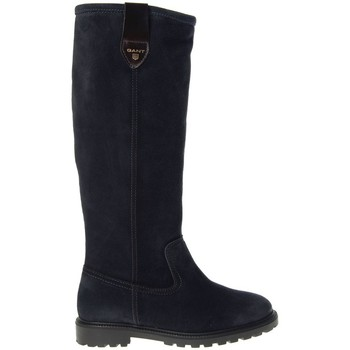 Shoes Women High boots Gant Martha Long Shaft Boot Storm Blue Black