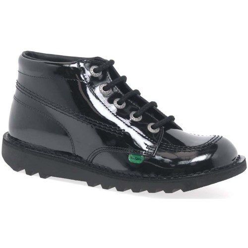 Shoes Girl Mid boots Kickers Chi Girls Senior Boots black
